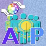 לוגו קבוצתי של אוטיסטים והורים קזחסטן