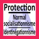 অ্যালায়েন্সআটিস্টের গ্রুপ লোগো সুরক্ষা | Normalsocialisationnisme-Identinégationnisme